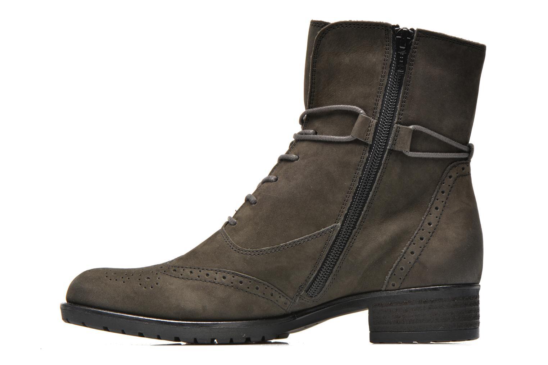 Stiefeletten & Boots Gabor Alcina grau ansicht von vorne