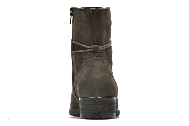 Stiefeletten & Boots Gabor Alcina grau ansicht von rechts