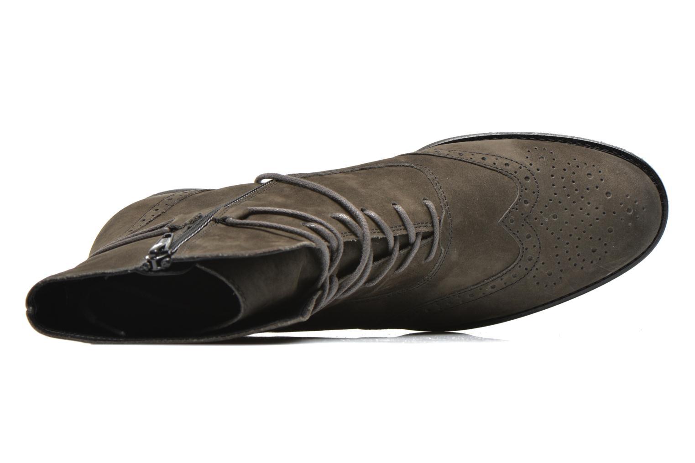 Stiefeletten & Boots Gabor Alcina grau ansicht von links