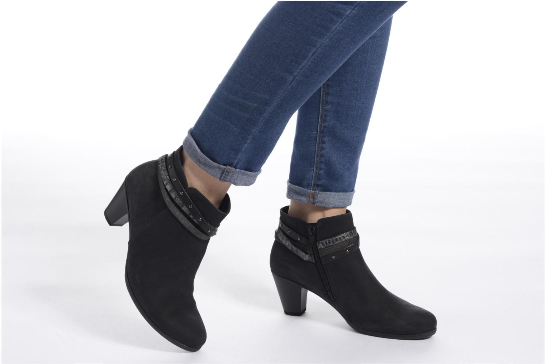 Bottines et boots Gabor Jalmira Bleu vue bas / vue portée sac