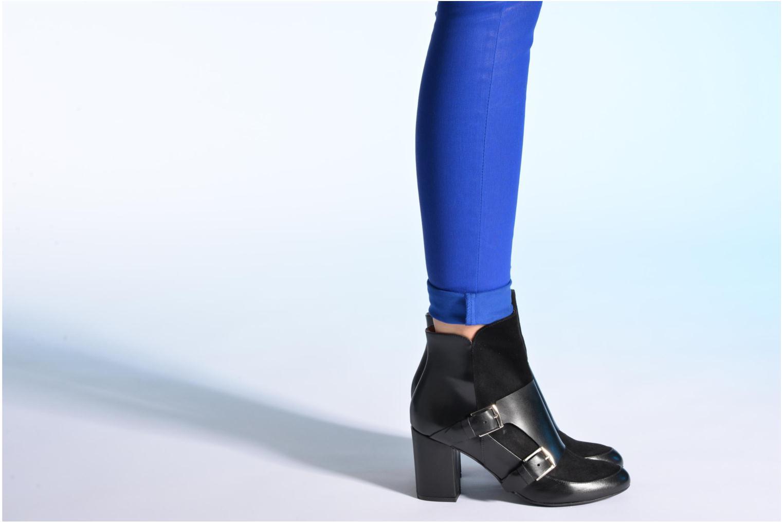 Stiefeletten & Boots Made by SARENZA Chantilly Chérie #13 schwarz ansicht von unten / tasche getragen