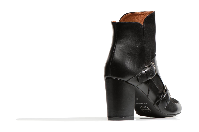 Ankelstøvler Made by SARENZA Chantilly Chérie #13 Sort se forfra
