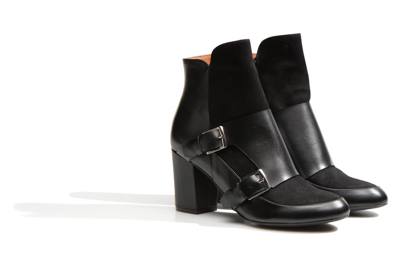 Ankelstøvler Made by SARENZA Chantilly Chérie #13 Sort se bagfra