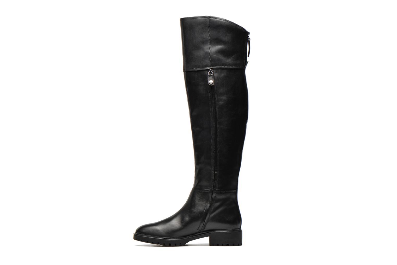 Støvler & gummistøvler Geox D PEACEFUL G D540GG Sort se forfra