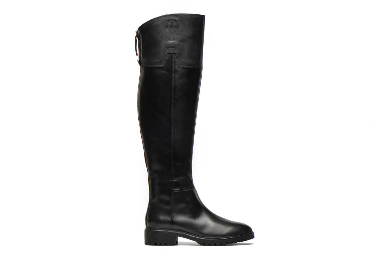 Laarzen Geox D PEACEFUL G D540GG Zwart achterkant