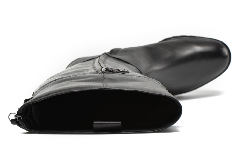Laarzen Geox D PEACEFUL G D540GG Zwart links