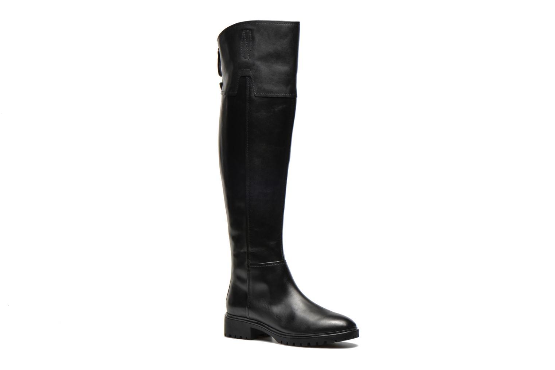 Støvler & gummistøvler Geox D PEACEFUL G D540GG Sort detaljeret billede af skoene