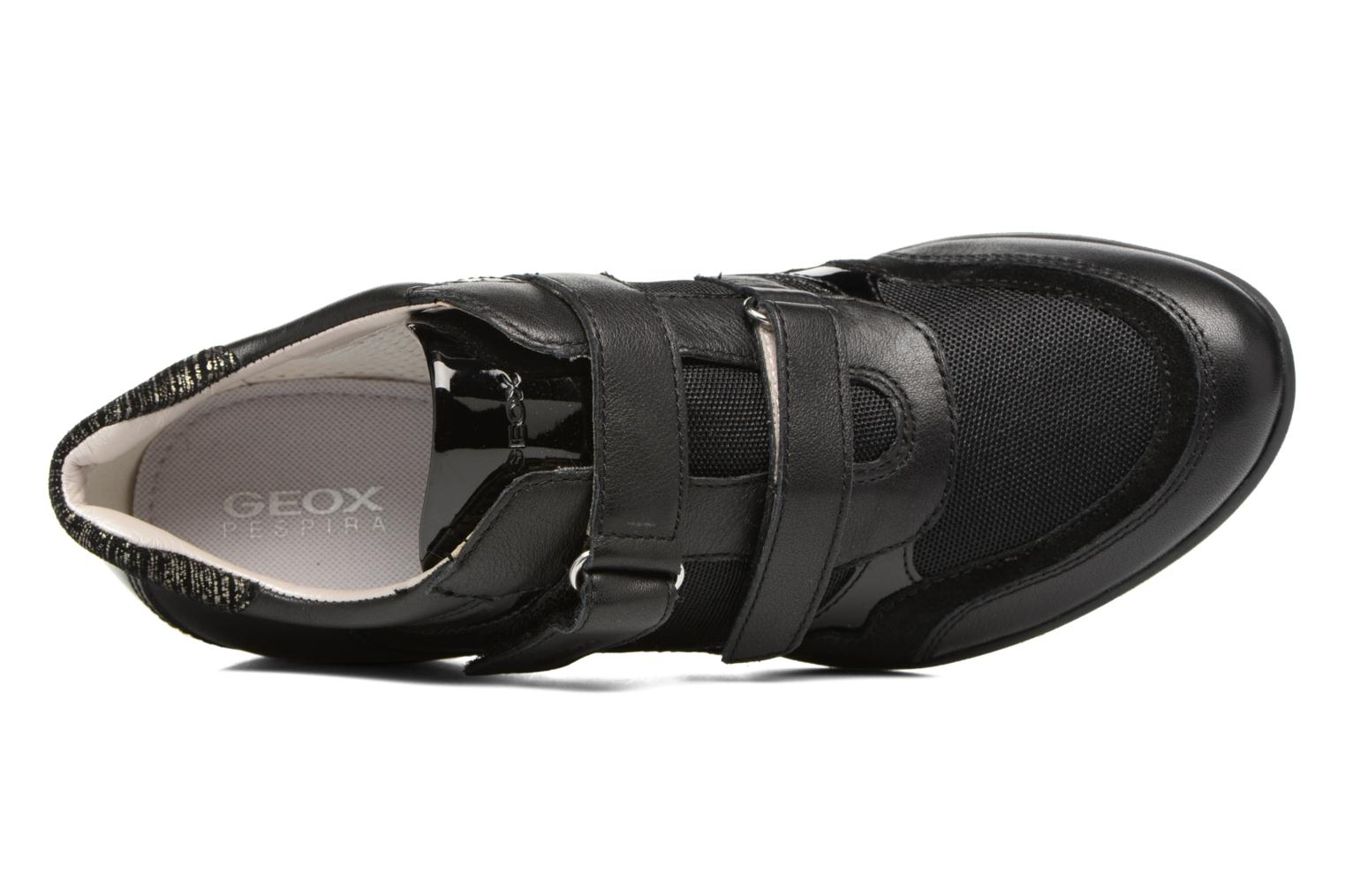 Trainers Geox D PERSEFONE A D540RA Black view from the left