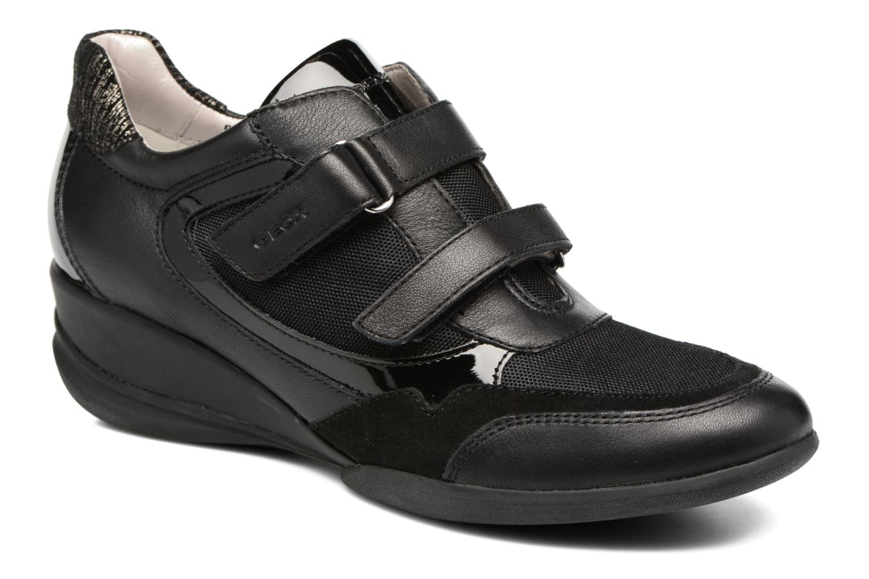 Sneakers Geox D PERSEFONE A D540RA Zwart detail