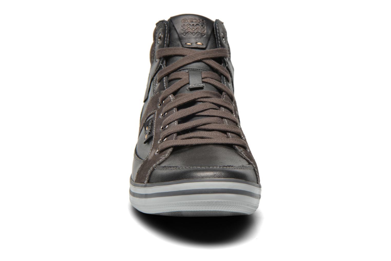 Sneaker Geox U BOX E U44R3E schwarz schuhe getragen
