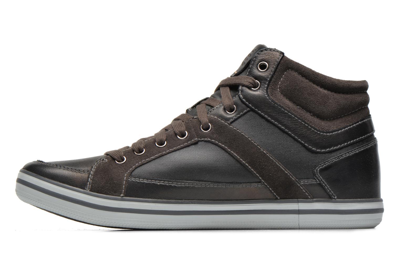 Sneaker Geox U BOX E U44R3E schwarz ansicht von vorne