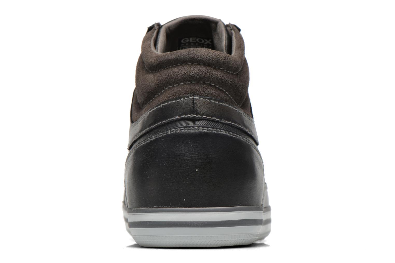 Sneaker Geox U BOX E U44R3E schwarz ansicht von rechts