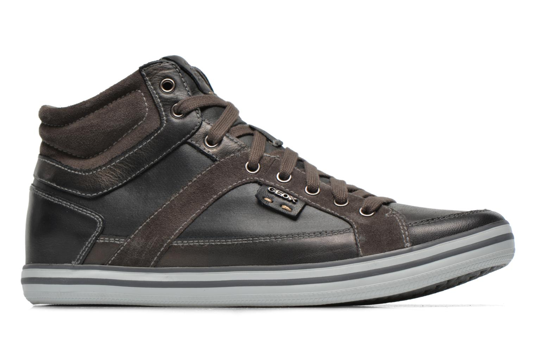 Sneakers Geox U BOX E U44R3E Zwart achterkant