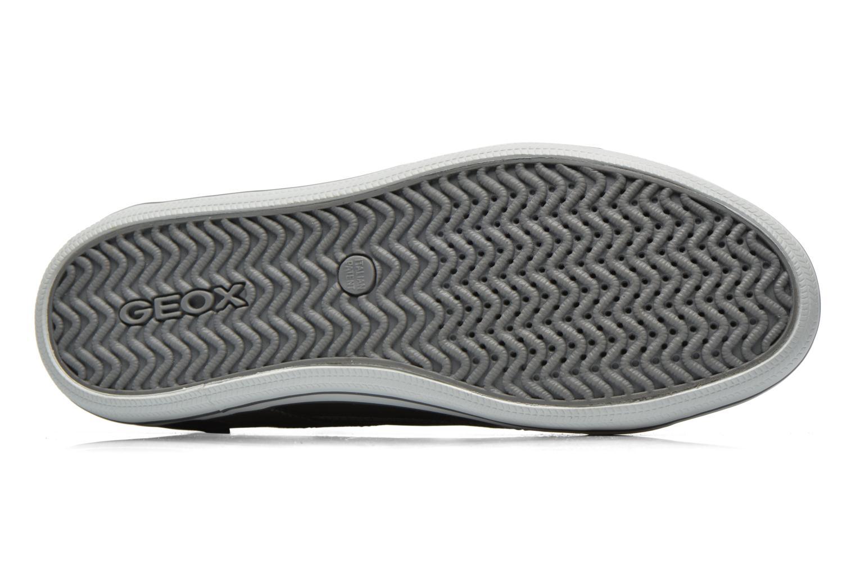 Sneaker Geox U BOX E U44R3E schwarz ansicht von oben