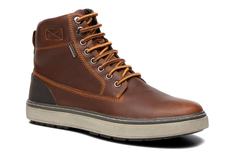 Bottines et boots Geox U MATTIAS ABX C U44T1C Marron vue détail/paire