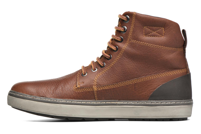 Ankle boots Geox U MATTIAS ABX C U44T1C Brown front view