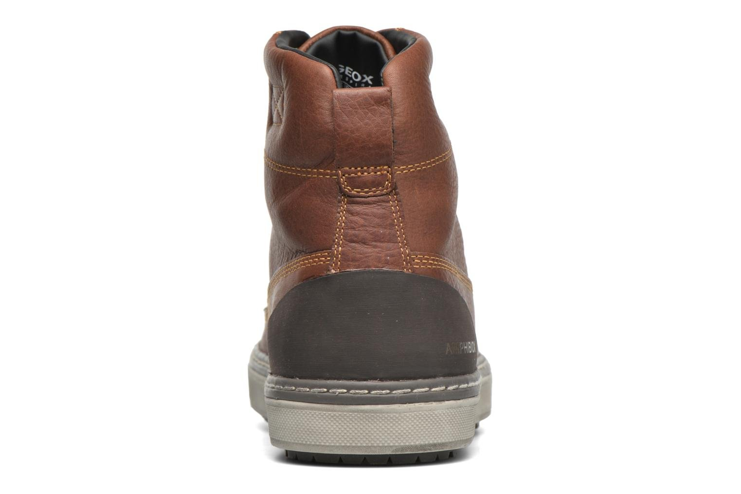 Ankle boots Geox U MATTIAS ABX C U44T1C Brown view from the right