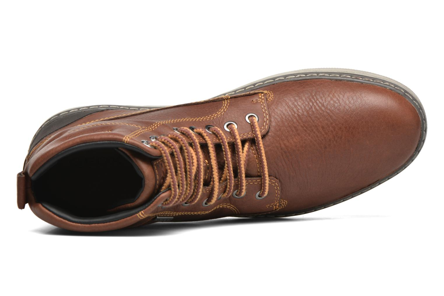 Ankle boots Geox U MATTIAS ABX C U44T1C Brown view from the left