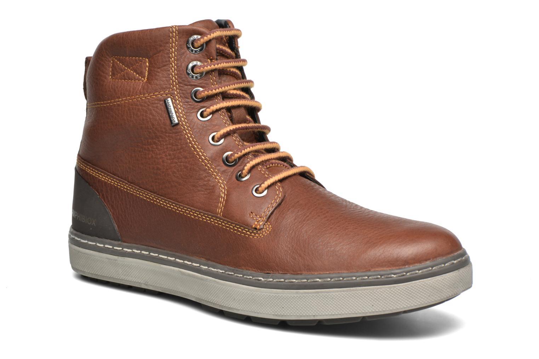Ankle boots Geox U MATTIAS ABX C U44T1C Brown detailed view/ Pair view