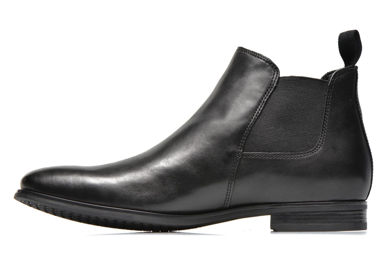 Bottines et boots Geox U ALBERT 2FIT I U44W3I Noir vue face