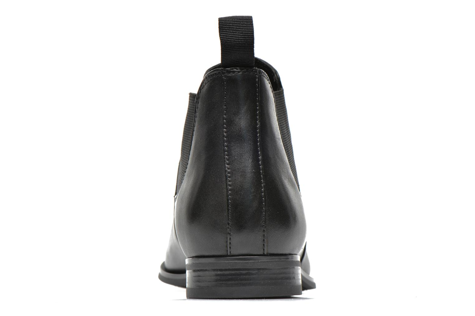 Ankle boots Geox U ALBERT 2FIT I U44W3I Black view from the right