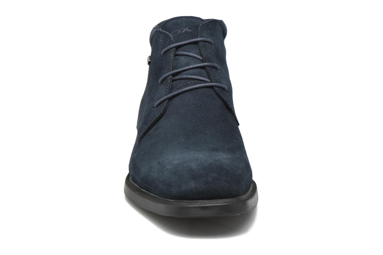 Chaussures à lacets Geox U BRAYDEN 2FIT ABX D U54N1D Bleu vue portées chaussures