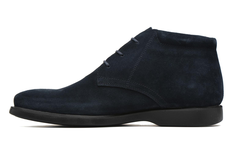 Lace-up shoes Geox U BRAYDEN 2FIT ABX D U54N1D Blue front view