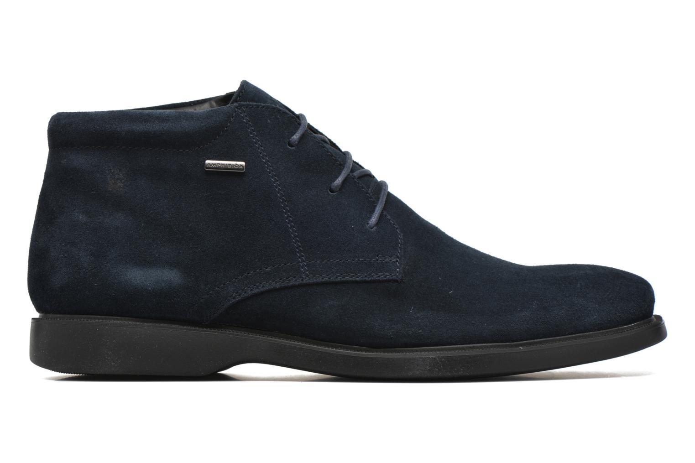 Lace-up shoes Geox U BRAYDEN 2FIT ABX D U54N1D Blue back view