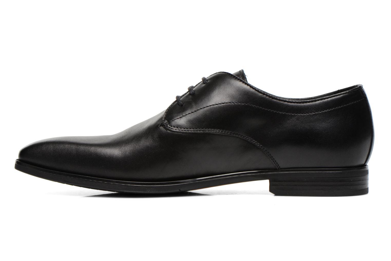 Chaussures à lacets Geox U NEW LIFE A U54P4A Noir vue face