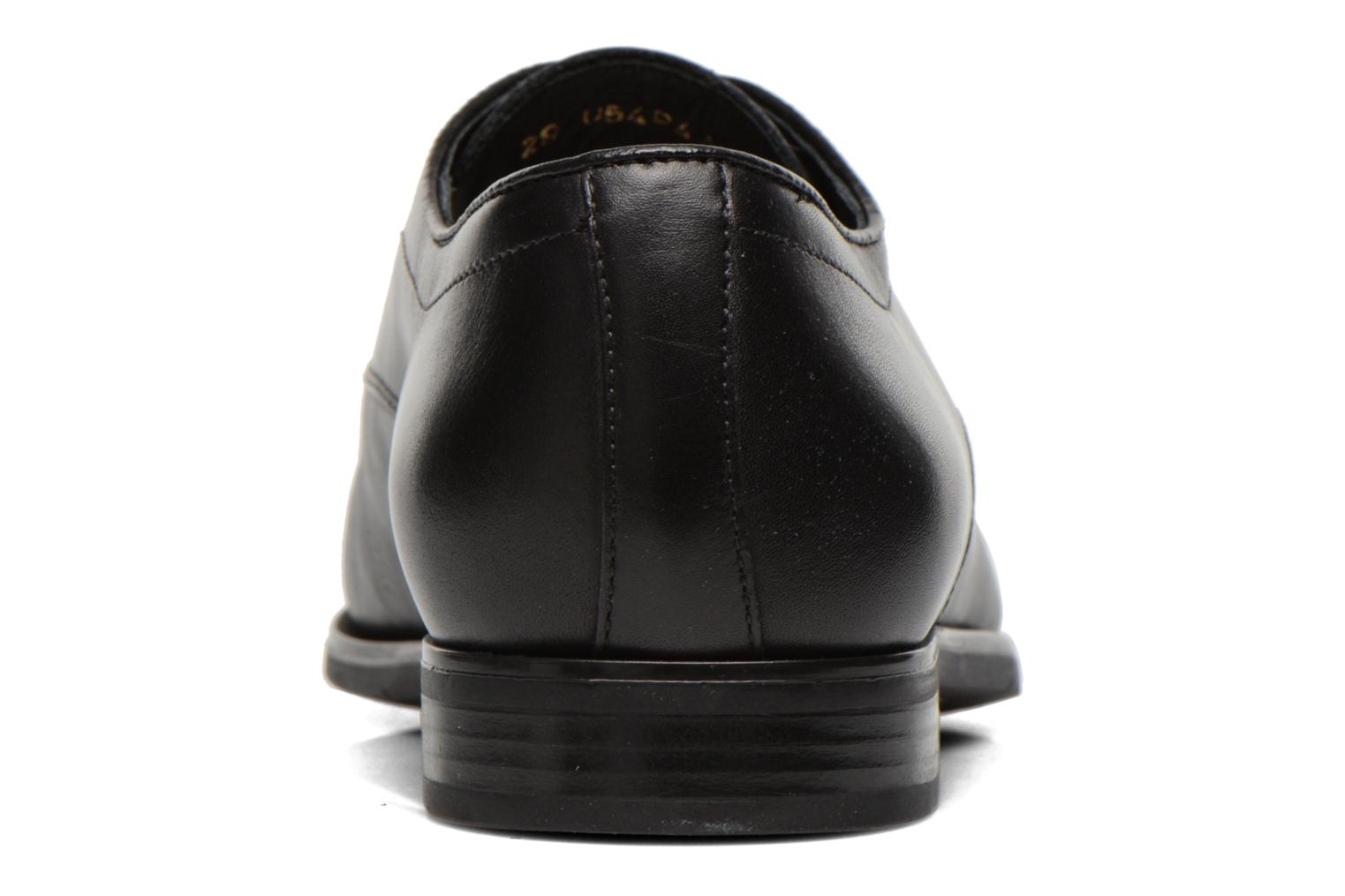 Lace-up shoes Geox U NEW LIFE A U54P4A Black view from the right