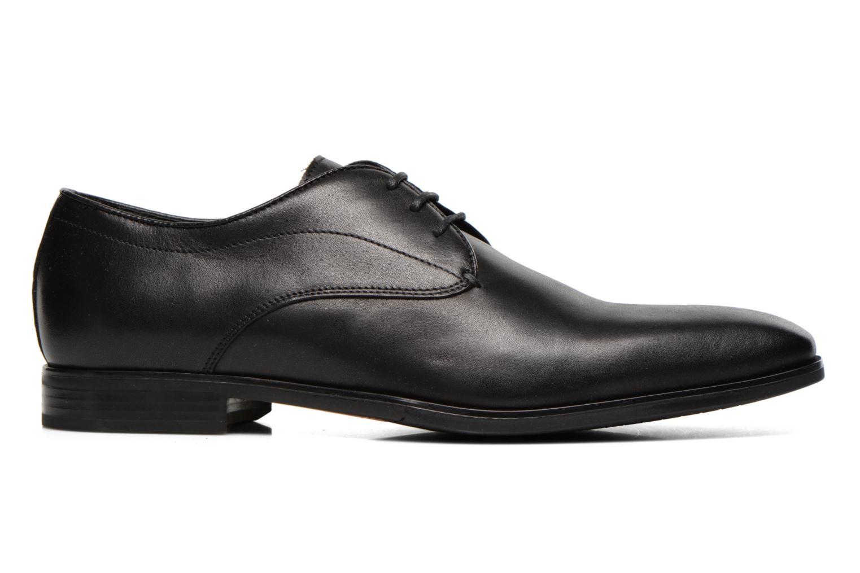 Lace-up shoes Geox U NEW LIFE A U54P4A Black back view