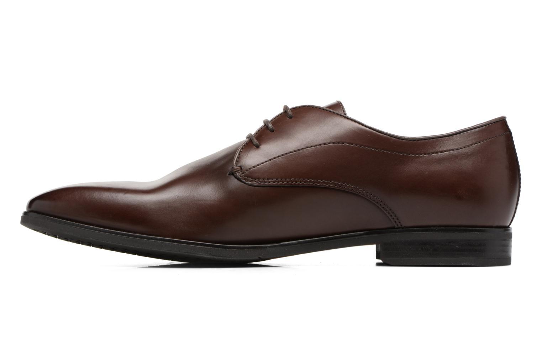 Zapatos con cordones Geox U NEW LIFE A U54P4A Marrón vista de frente