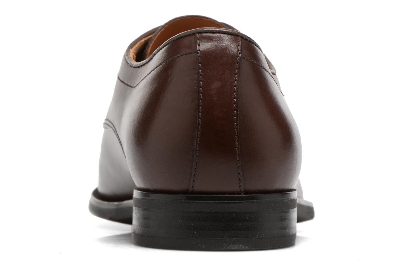 Zapatos con cordones Geox U NEW LIFE A U54P4A Marrón vista lateral derecha