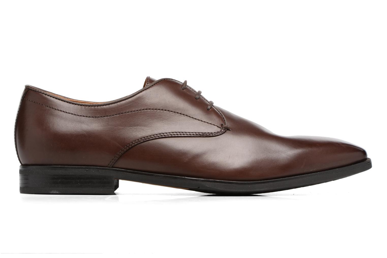 Zapatos con cordones Geox U NEW LIFE A U54P4A Marrón vistra trasera