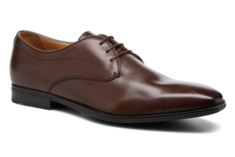 Zapatos con cordones Geox U NEW LIFE A U54P4A Marrón vista de detalle / par
