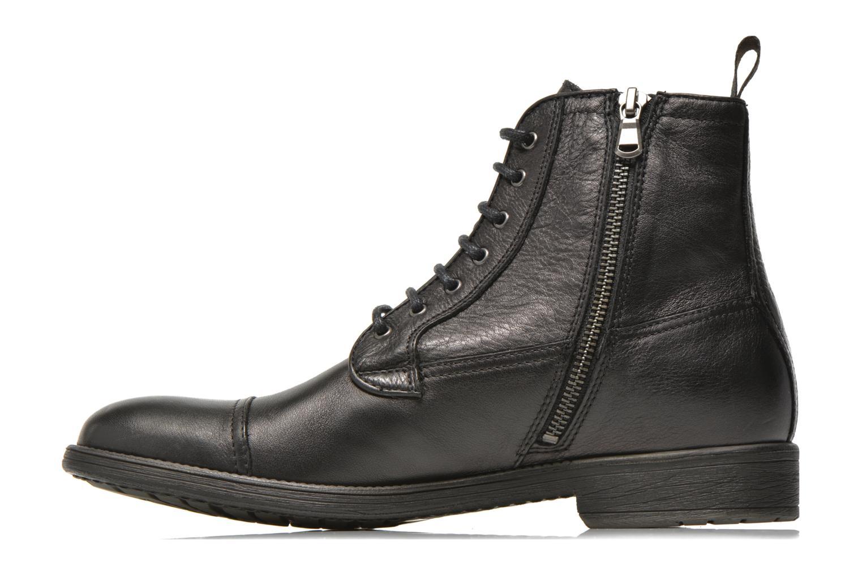 Boots en enkellaarsjes Geox U JAYLON B U54Y7B Zwart voorkant