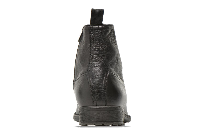 Boots en enkellaarsjes Geox U JAYLON B U54Y7B Zwart rechts