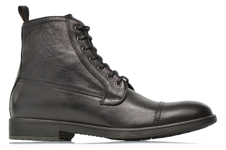 Boots en enkellaarsjes Geox U JAYLON B U54Y7B Zwart achterkant