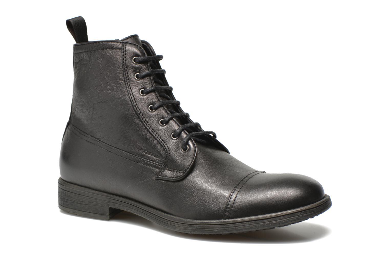 Boots en enkellaarsjes Geox U JAYLON B U54Y7B Zwart detail
