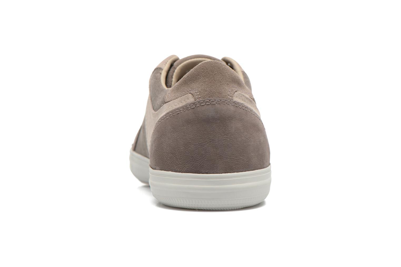 Sneaker Geox U BOX D U54R3D grau ansicht von rechts