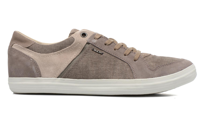 Sneaker Geox U BOX D U54R3D grau ansicht von hinten