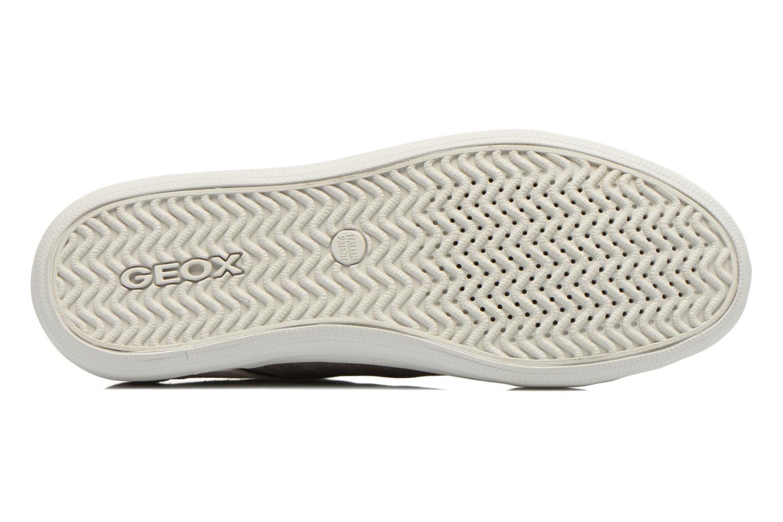 Sneaker Geox U BOX D U54R3D grau ansicht von oben