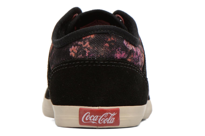Sneakers Coca-cola shoes Montreal low print Zwart rechts