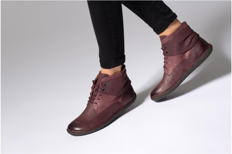 Bottines et boots Kickers HOBYLOW Marron vue bas / vue portée sac