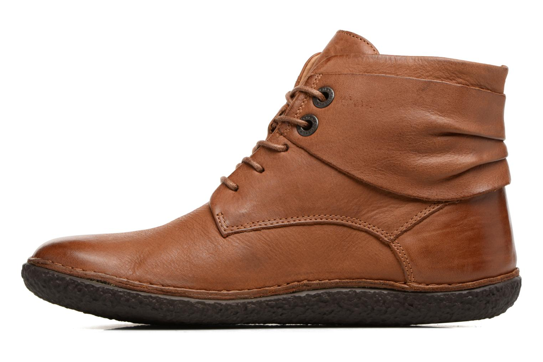 Bottines et boots Kickers HOBYLOW Marron vue face