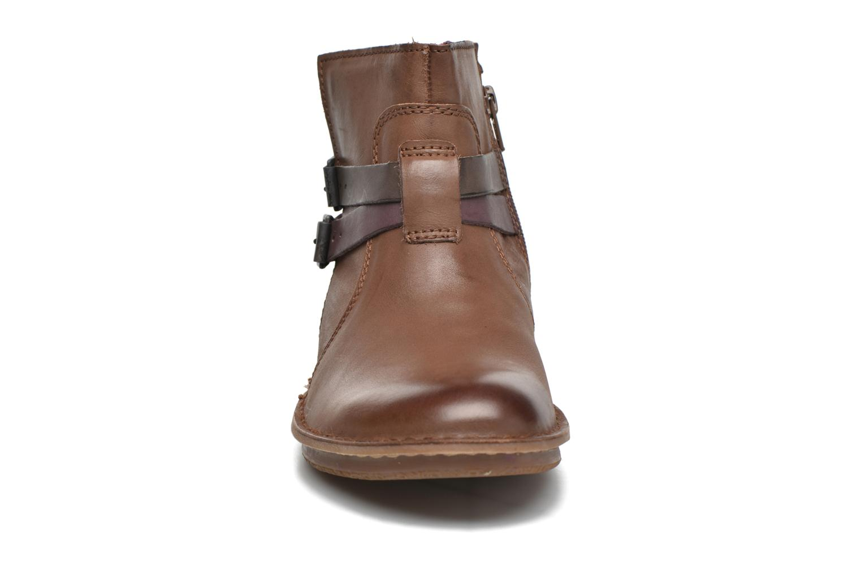 Bottines et boots Kickers WOUASO Marron vue portées chaussures