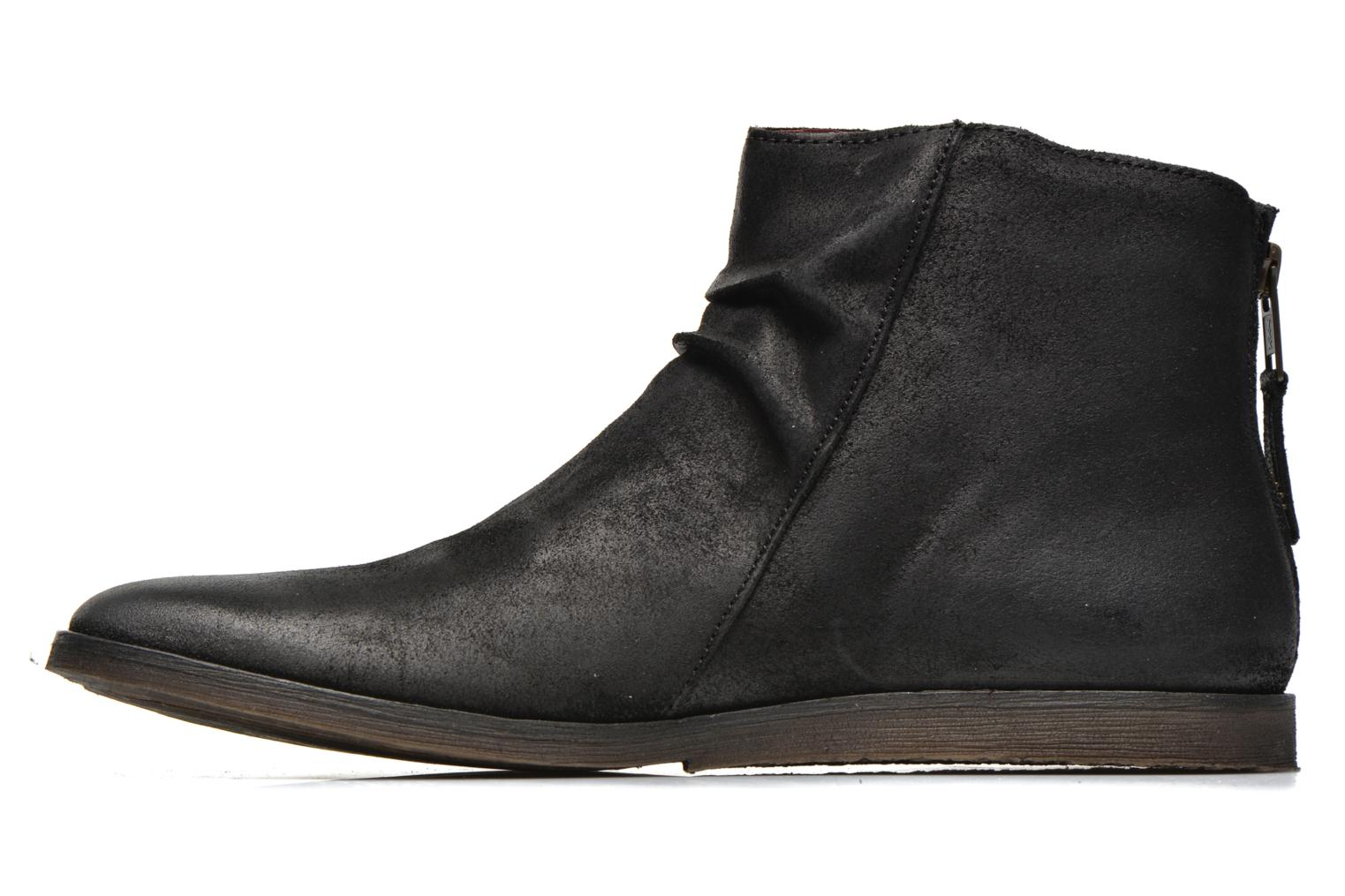 Bottines et boots Kickers REVIVAL Noir vue face