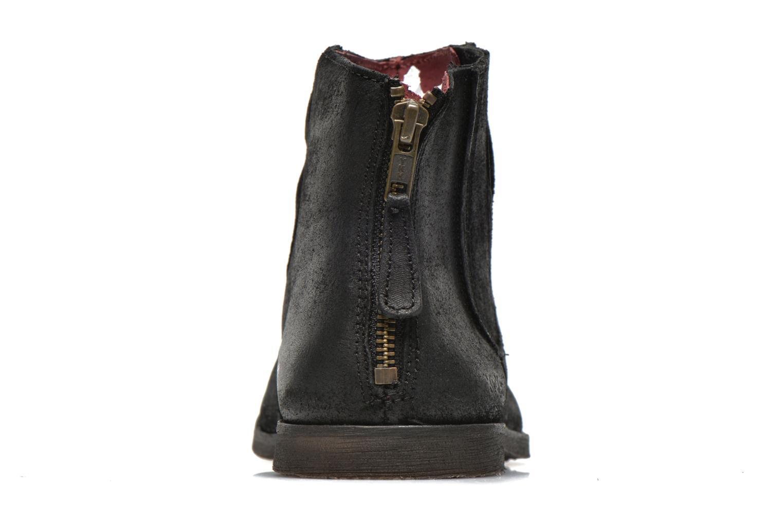 Bottines et boots Kickers REVIVAL Noir vue droite