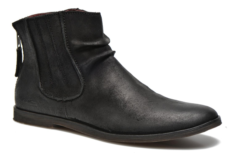 Ankelstøvler Kickers REVIVAL Sort detaljeret billede af skoene