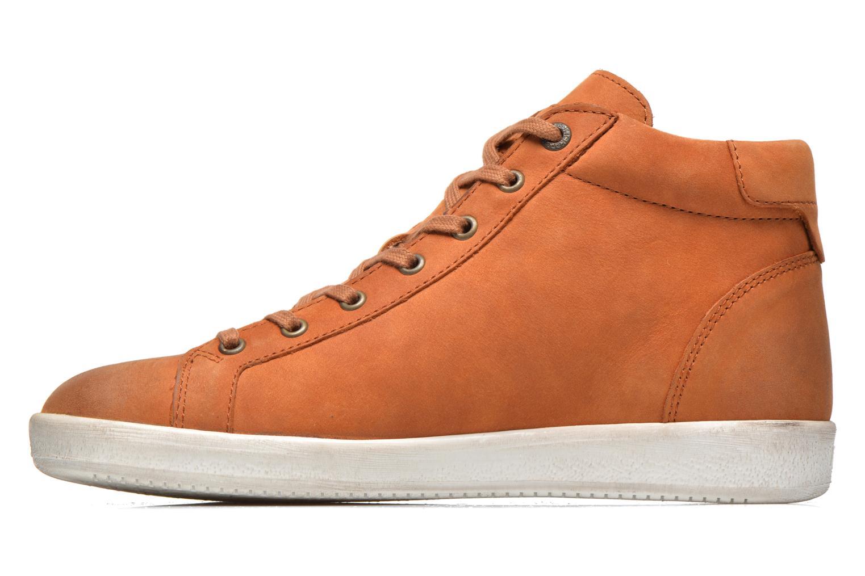 Baskets Kickers Hamo Orange vue face